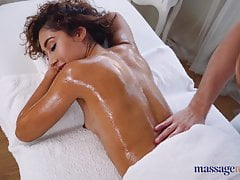 Massage Rooms Beautiful Mexican Melody Petite oily footjob