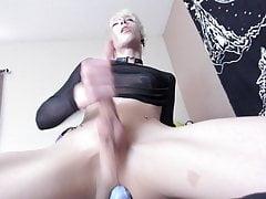 Beautiful Emo boy masturbating
