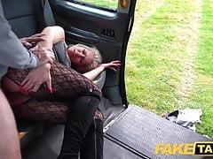 Fake Taxi Blonde babe horny tourist masturbates and fucks