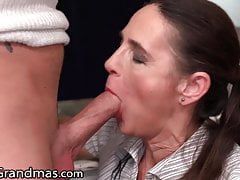 MILF Gets Distracted By Her Stepson While Working Remotely