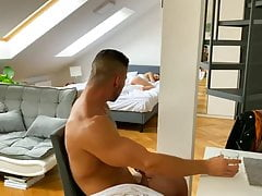SHOCK My friend fucked my wife while I was in bed