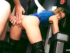 German Female Teacher Loves Becoming A Latex Slave Girl And Getting Fucked
