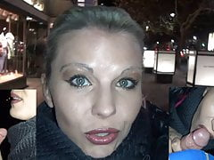 Blowjob with 2 strangers in the middle of Berlin