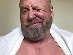 Big daddy bear wanking