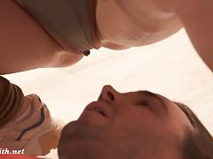 Erotic stretching class prank with Jeny Smith (Yoga)